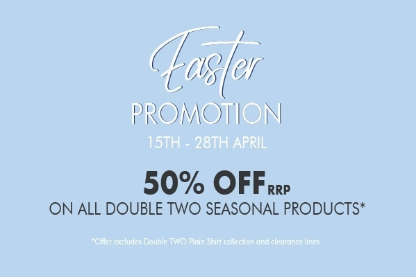 50% off Double Two Seasonal Products
