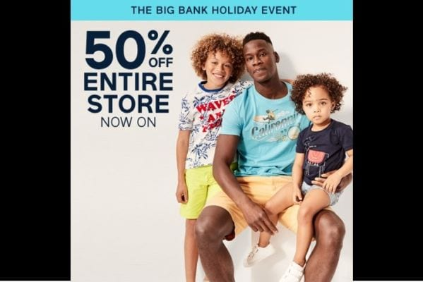 May Half Term – Entire Store 50%