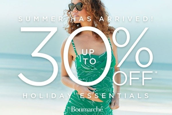 Up to 30% off Holiday Essentials!