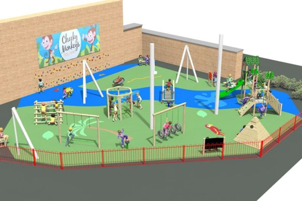 New play area set for Lakeside Village!