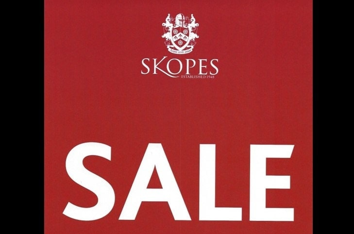 Sale Now On – Up to 50% off RRP