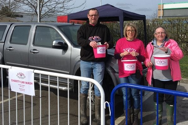 Lakeside Village raise more than £5,000 for cancer charity