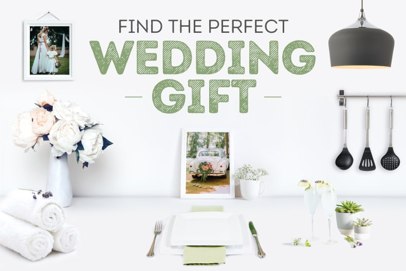 Top tips for finding the perfect wedding gift