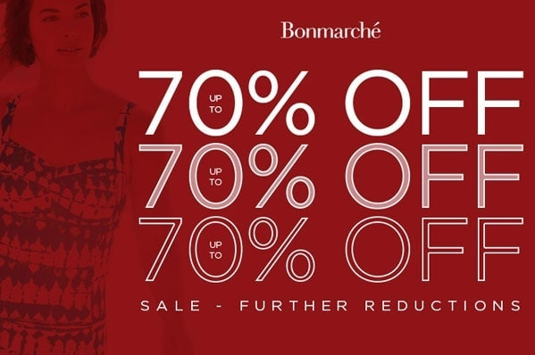 Bonmarche Mid-season sale now up to 70% off!