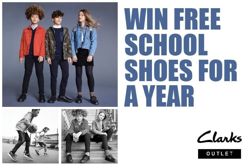 Win Free School Shoes for a year from Clarks
