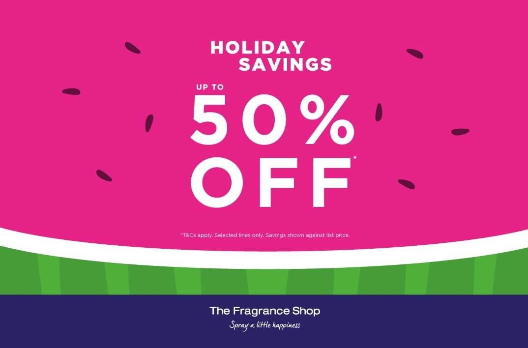 The Fragrance Shop Holiday Savings – Up to 50% Off
