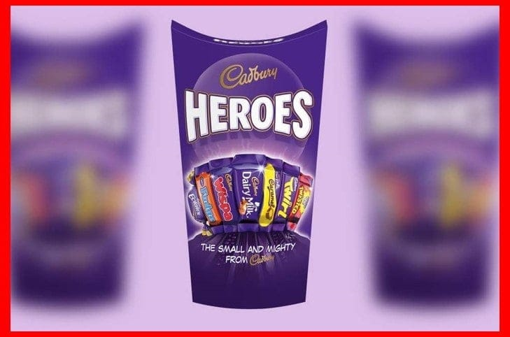 Cadbury Cadbury Heroes Cartons 2 for £3.00