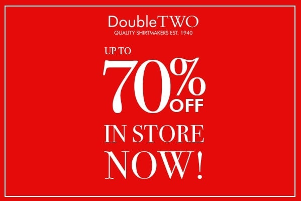 Double Two Summer Sale – Up to 70% Off
