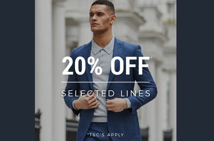 E-Newsletter Bank Holiday Offer – Extra 20% Off