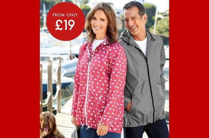 Cotton Traders Waterproof Parkas From Only £19