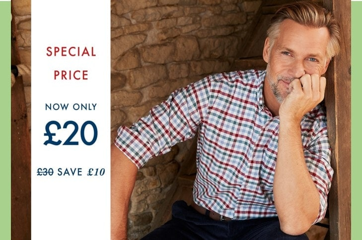 Cotton Traders £10 Off Oxford Shirt