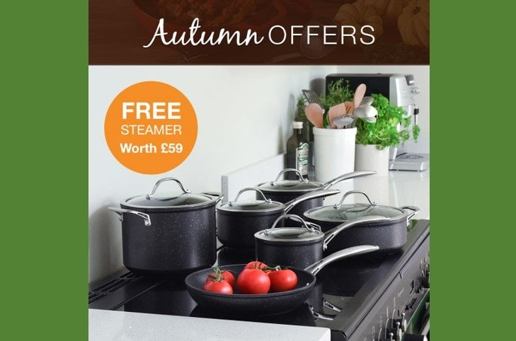 ProCook 6 Piece Professional Granite cookware set £199