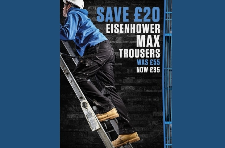 Dickies Eisenhower Max Trousers Now Only £35