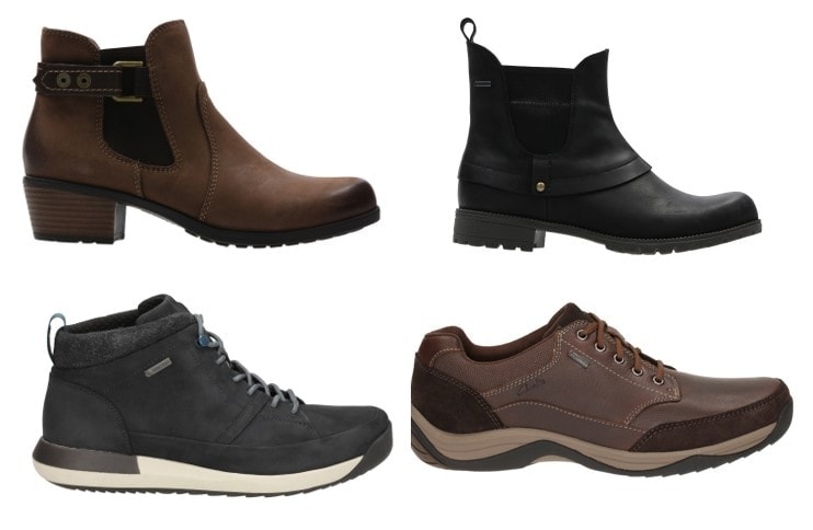Clarks Prepare for wet weather with Clarks GORE-TEX range