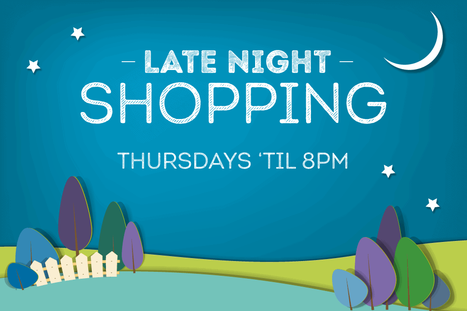 Lakeside Village I Late Night Shopping I Homepage Banner