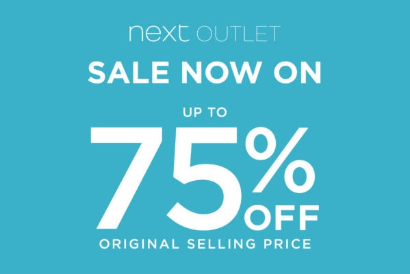 Next Outlet Further Reductions Now On