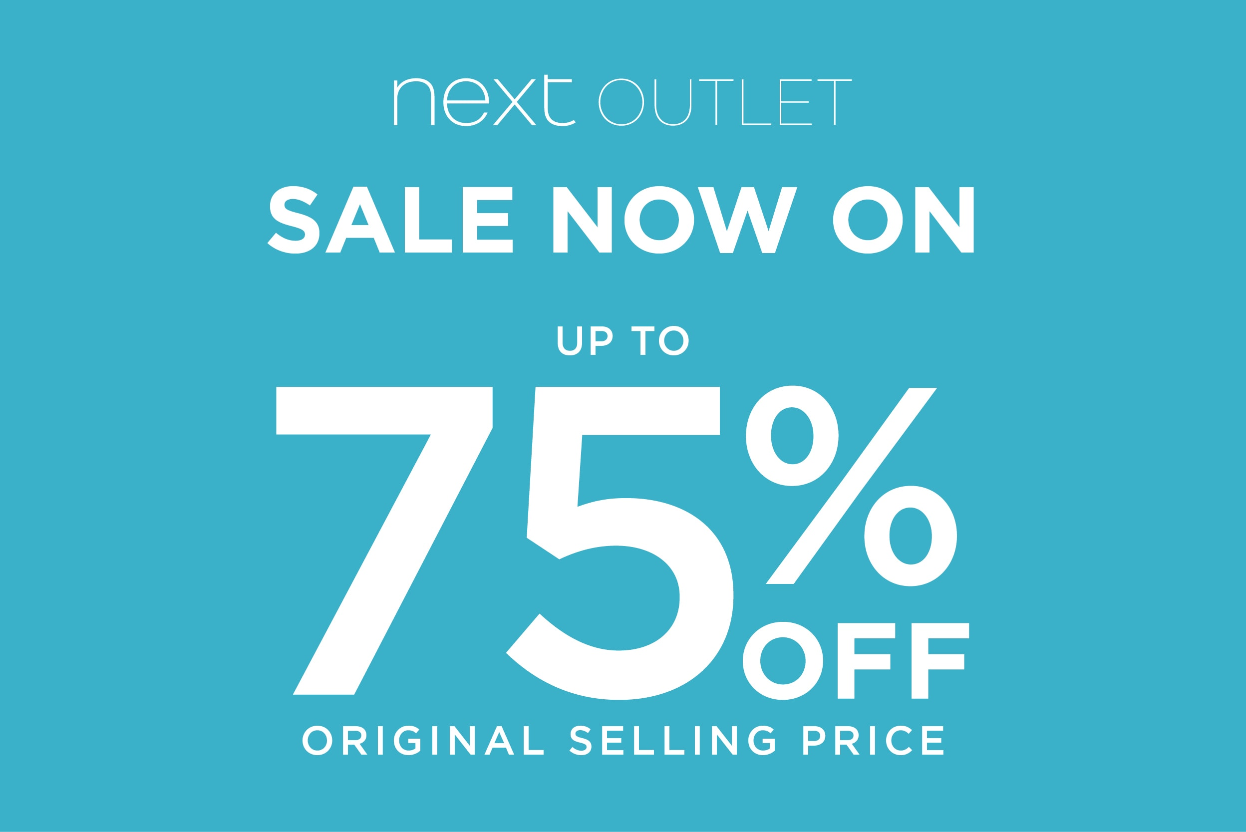 Next Outlet Sale Now On – Up to 75% Off