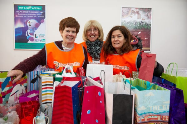 Christmas shoppers raise cash for people living with dementia