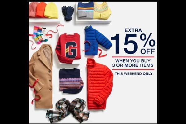 GAP Outlet Style Stash – Extra 15% Off