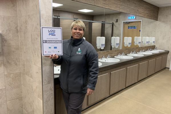Lakeside Village's loos sparkle with glittering award!