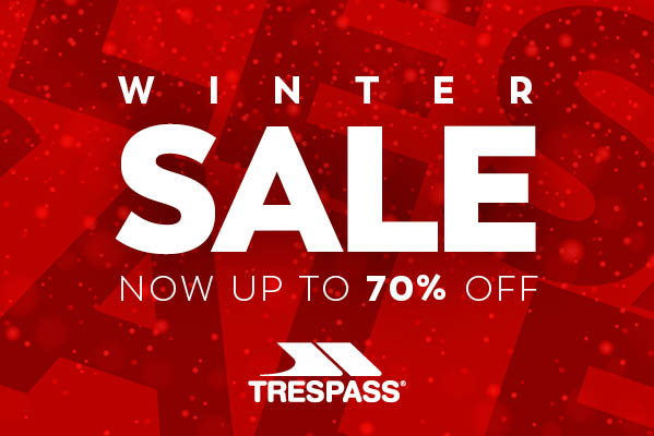 Trespass Winter Sale Extended, now up to 70% Off