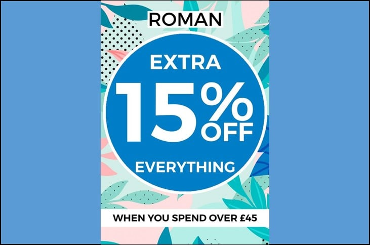 E-Newsletter Extra 15% Off