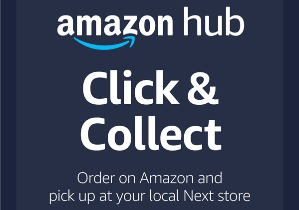 Pick up your Amazon parcel at Next Outlet