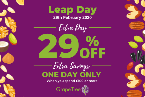 Grape Tree 29% Off for One Day Only