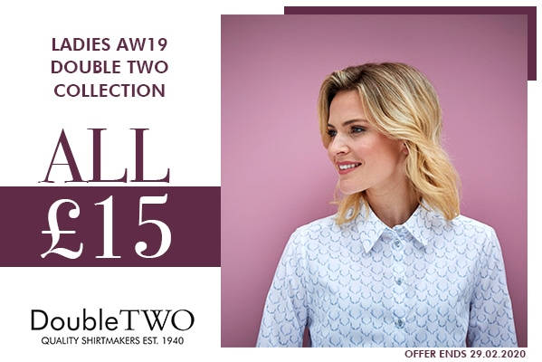 Double Two Ladies AW19 Collection Items only £15