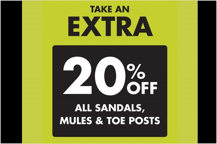 Pavers An Extra 20% Off Sandals, Mules & Toe Posts