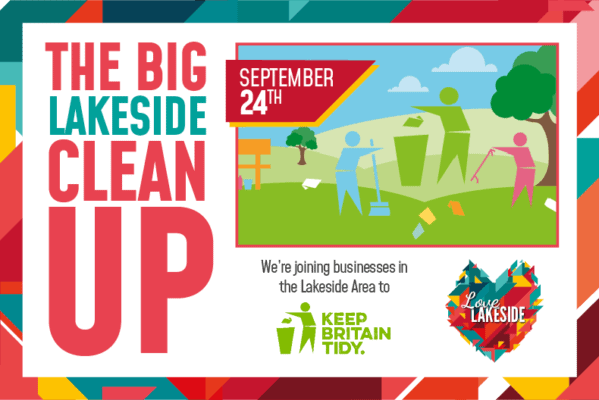 Businesses join forces for The Big Lakeside Clean Up