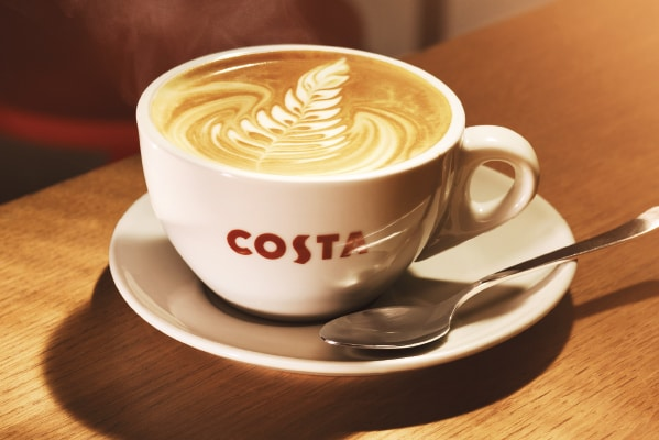 Costa Coffee Breakfast offer – buy medium or large hot coffee and get a Croissant for £1